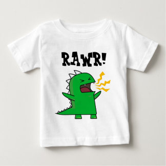 RAWR Dino - customizable! Baby T-Shirt