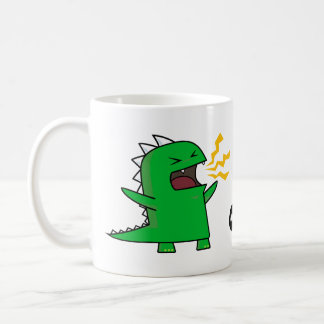 RAWR Dino - customizable! Coffee Mug