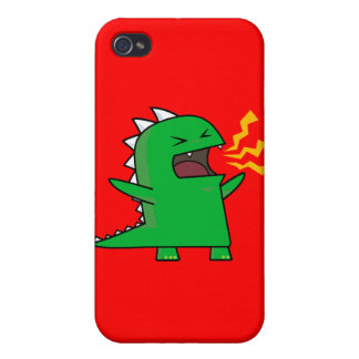 RAWR Dino - customizable! iPhone 4 Case