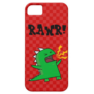 RAWR Dino - customizable small iPhone 5 Cases