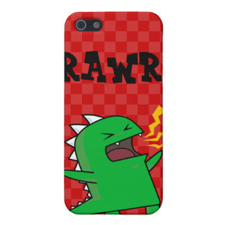 RAWR Dino - customizable small Cover For iPhone 5