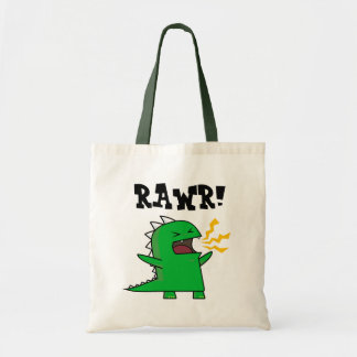 RAWR Dino - customizable! Tote Bag
