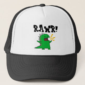 RAWR Dino - customizable! Trucker Hat