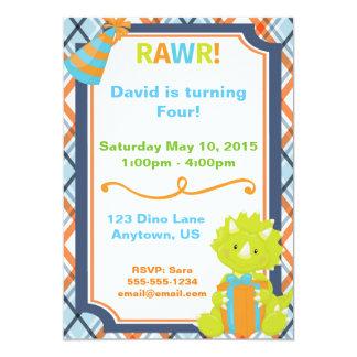 RAWR! Dino Party Birthday Invitation -Customizable
