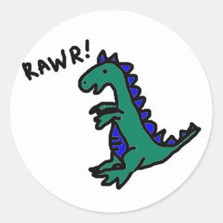 Rawr! Dino Stickers
