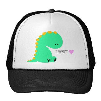 RAWR dinosaur cute shirt Mesh Hat