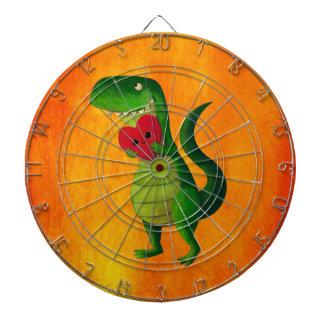 RAWR Dinosaur Love Dartboard