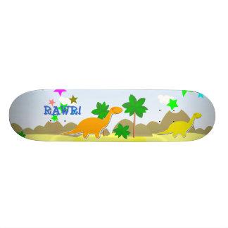 RAWR! Dinosaur Skateboard