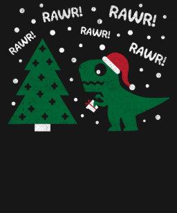 96a831229 Santa T Rex T-Shirts & Shirt Designs | Zazzle UK