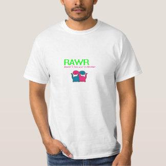 "RAWR ""i love you"" (male) T-Shirt"