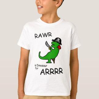 RAWR is Dinosaur for ARRR (Pirate Dinosaur) T-Shirt