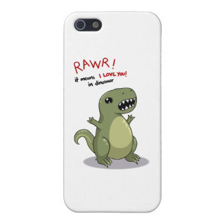 Rawr Means I love you in Dinosaur iPhone 5/5S Cover