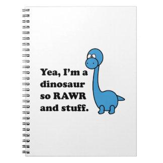 Rawr Note Book