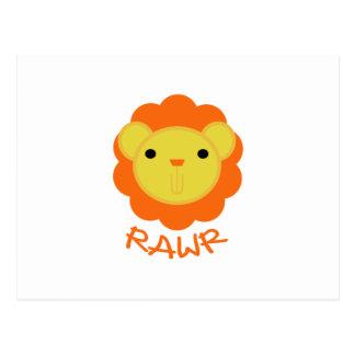 Rawr Postcard