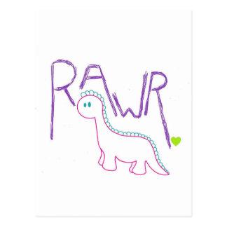 Rawr Post Cards