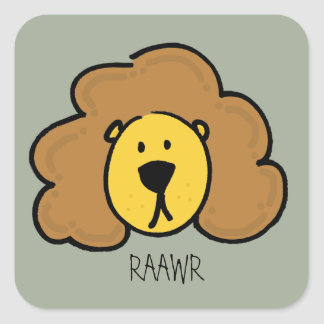 RAWR Stickers