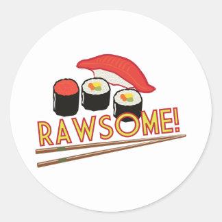 Rawsome! Classic Round Sticker
