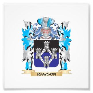 Rawson Coat of Arms - Family Crest Art Photo