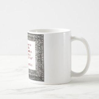 Ray Bradbury Quote About Burning Books Coffee Mug