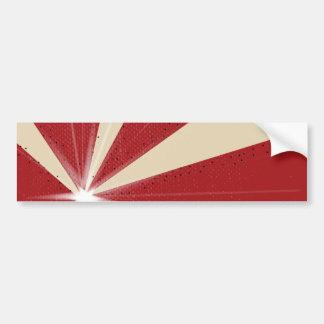 Ray Grunge Background Bumper Sticker