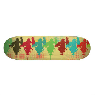 Ray Guns Skate Deck #3