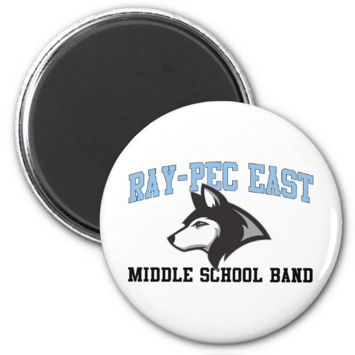 Ray-Pec East Middle School Band Magnets