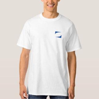 Ray port blue logo T-shirt