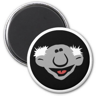 Ray Reviews Round Fridge Magnet