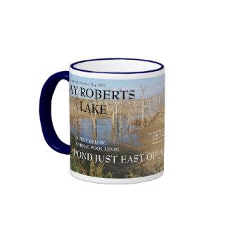 Ray Roberts-Pond East of Arrowhead Pond Coffee Mug