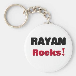 Rayan Rocks Key Chain