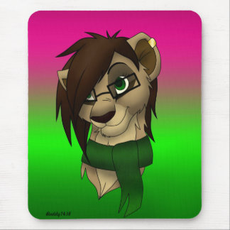 Raylene the Lioness Mouse Pad
