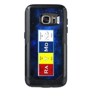 Raymond Elements w/ Border Samsung Galaxy S7 Case