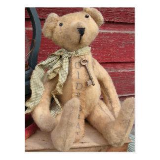 Raymond Teddy Bear Postcard