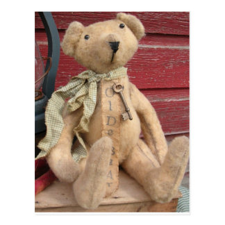 Raymond Teddy Bear Postcard