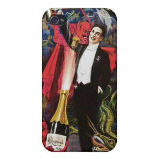 Raymond The Great ~ Magician Vintage Magic Act Covers For iPhone 4