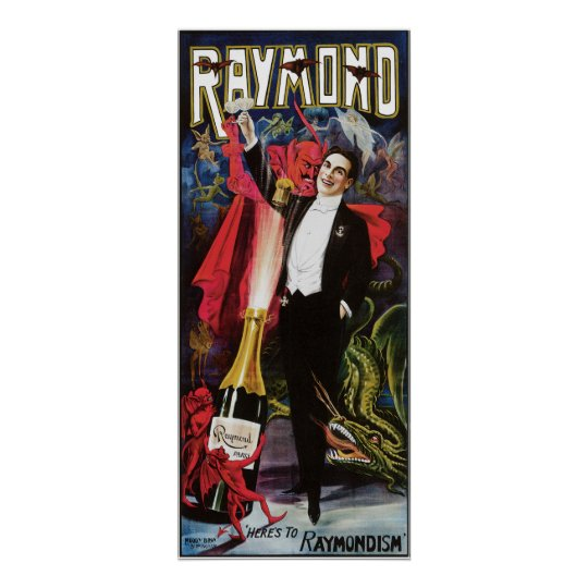 Raymond The Great ~ Magician Vintage Magic Act