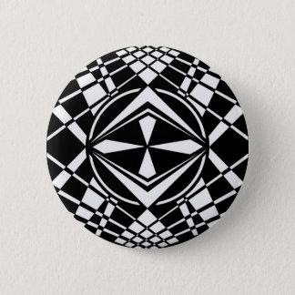 rays 6 cm round badge