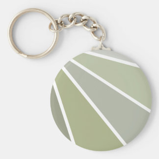Rays key chain, customizable basic round button key ring