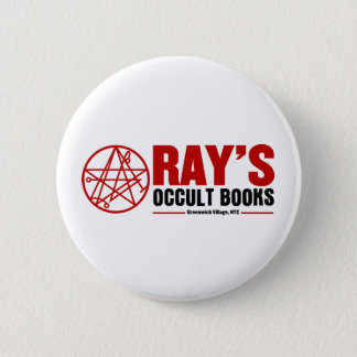 Ray's Occult Book Shop 6 Cm Round Badge