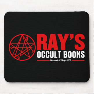 Ray's Occult Book Shop Mouse Mat