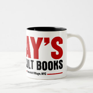 Ray's Occult Book Shop Two-Tone Coffee Mug