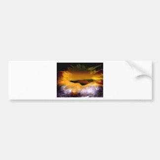 Rays Of Joy Sunrise Bumper Sticker