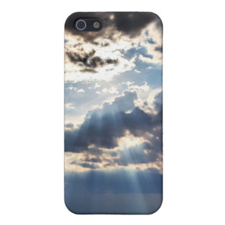 Rays of sunshine from above case for iPhone 5/5S