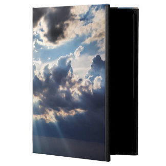 Rays of sunshine from above cover for iPad air