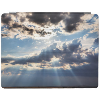Rays of sunshine from above iPad cover