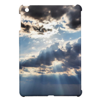 Rays of sunshine from above iPad mini cover