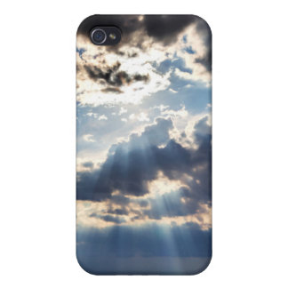 Rays of sunshine from above iPhone 4/4S cases