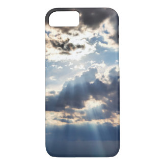 Rays of sunshine from above iPhone 8/7 case