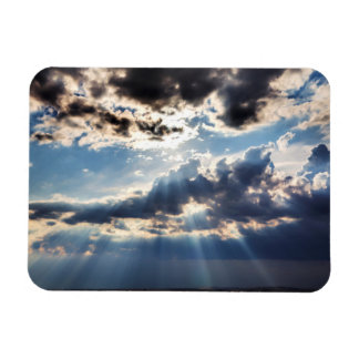 Rays of sunshine from above magnet