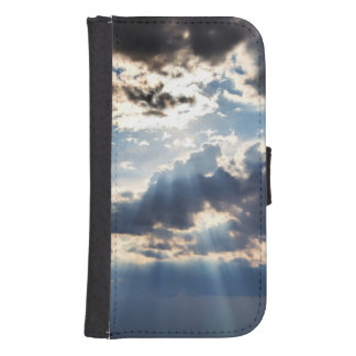 Rays of sunshine from above samsung s4 wallet case
